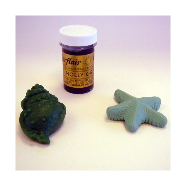 Sugarflair Paste Colour HOLLY GREEN, 25gr. - Sugarflair in vendita su Sugarmania.it