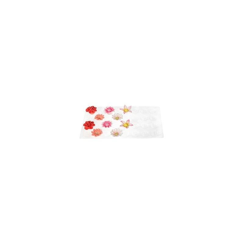 Supporto modella fiori piccolo 32 cavità ,set due pezzi - Modecor in vendita su Sugarmania.it