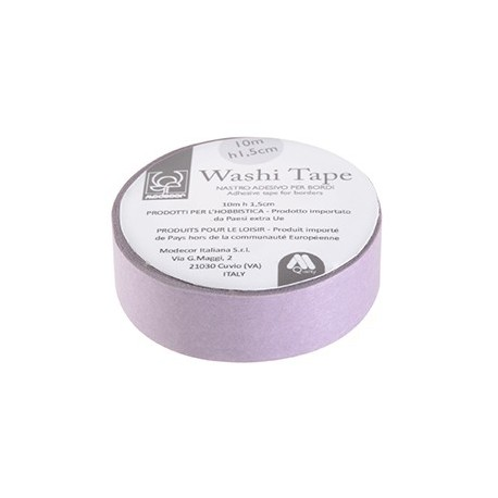 Nastro adesivo per cake board Washi Tape VIOLA - Modecor in vendita su Sugarmania.it