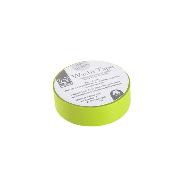 Nastro adesivo per cake board Washi Tape VERDE - Modecor in vendita su Sugarmania.it