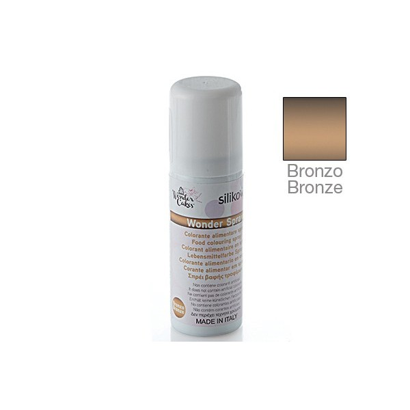 Wonder spray BRONZO Silikomart - Silikomart in vendita su Sugarmania.it