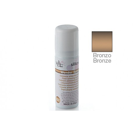Wonder spray BRONZO Silikomart - Silikomart in vendita su Sugarmania.it