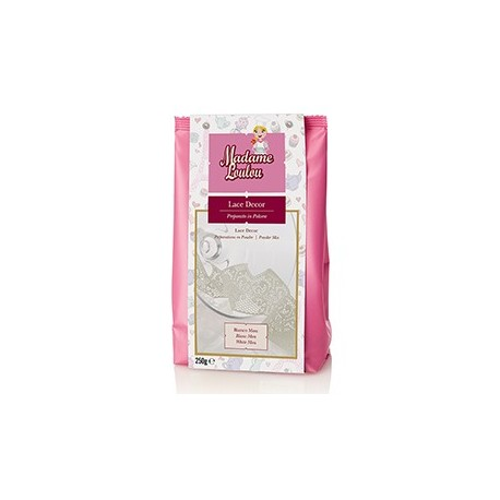 Lace Decor Madam Loulou BIANCO mou 250 g - Madam Loulou in vendita su Sugarmania.it