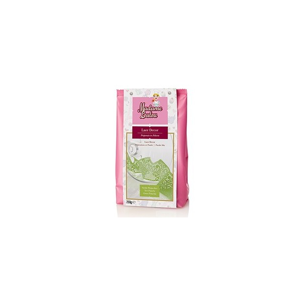 Lace Decor Madam Loulou VERDE pistacchio 250 g - Madam Loulou in vendita su Sugarmania.it