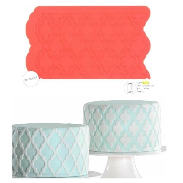 Stampo silicone Modecor ARABESQUE - in vendita su Sugarmania.it