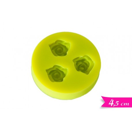 Stampo silicone roselline piccole - Golden Hill in vendita su Sugarmania.it