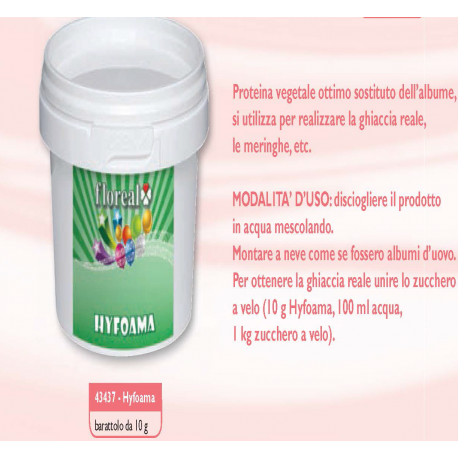 Hyfoama 10 g -  in vendita su Sugarmania.it