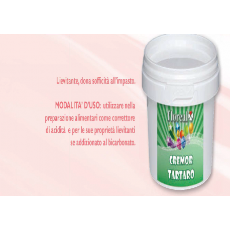 Cremor tartaro 20 g -  in vendita su Sugarmania.it