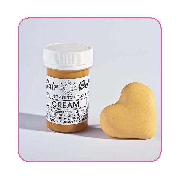 Sugarflair Paste Colours - TATRANIL CREAM - 25g - Sugarflair in vendita su Sugarmania.it