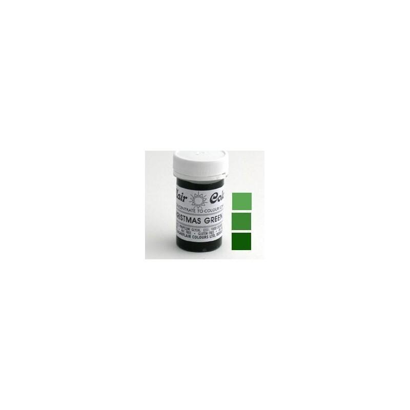 Sugarflair Paste Colour CHRISTMAS green, 25gr - Sugarflair in vendita su Sugarmania.it