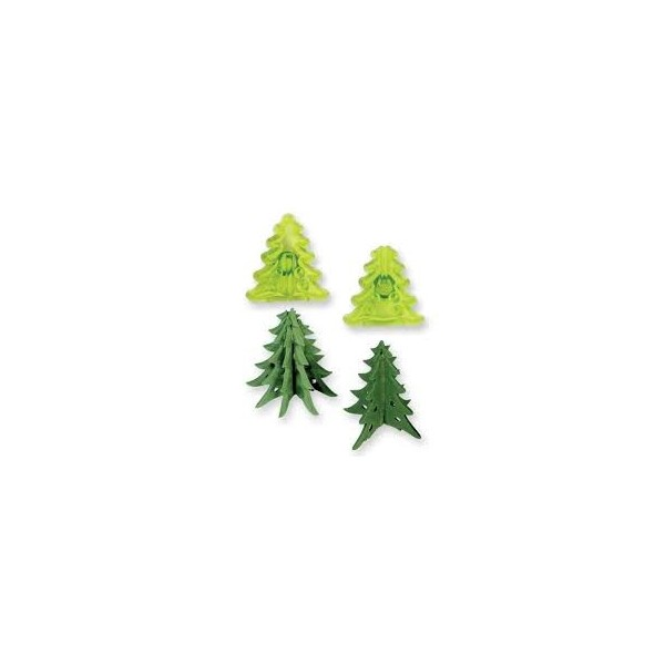 Set 2 cutter JEM albero di natale 3d - JEM in vendita su Sugarmania.it