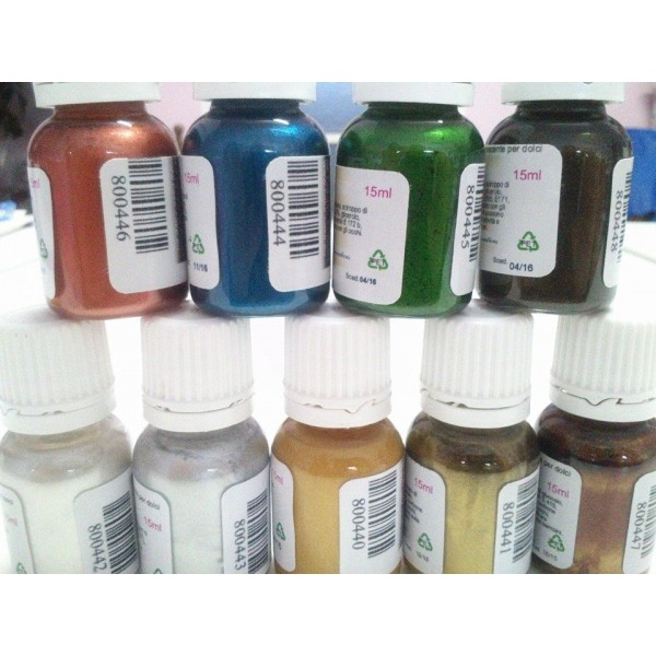 Star Color Verde Cake&Cake 15 ml - Cake&Cake in vendita su Sugarmania.it