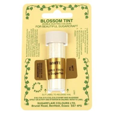 Sugarflair Blossom Tint Powdered Food Colour Dust - WHITE