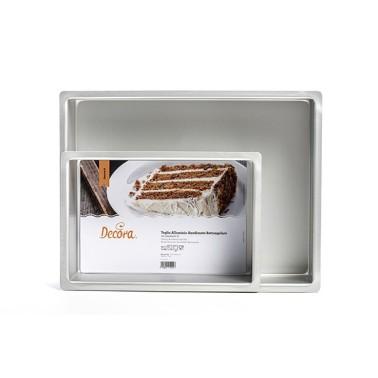 Teglia rettangolare 30 x 40 cm altezza 10 cm Decora - Decora in vendita su Sugarmania.it