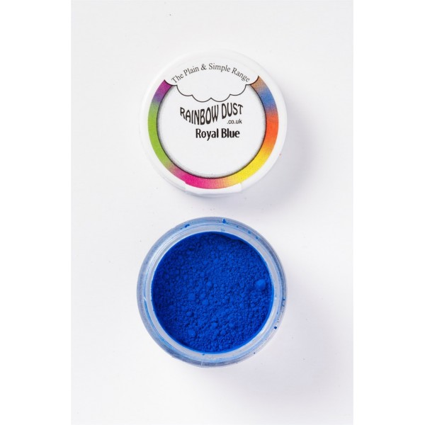 Plain&Simple - Royal Blue - Rainbow Dust in vendita su Sugarmania.it