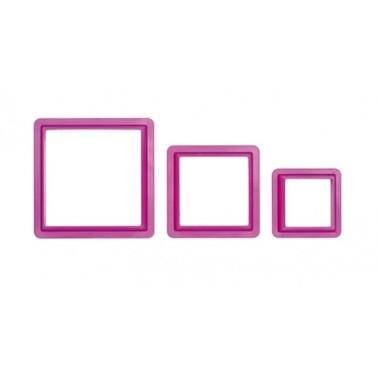 Set 3 tagliapasta quadrato Decora - Decora in vendita su Sugarmania.it