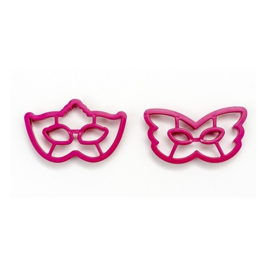 Set 2 tagliapasta maschera di carnevale Decora - Decora in vendita su Sugarmania.it