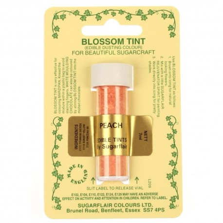 Sugarflair Blossom Tint Powdered Food Colour Dust PEACH - Sugarflair in vendita su Sugarmania.it