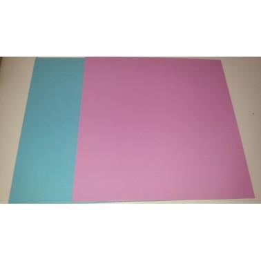 Tavoletta sottotorta quadrata rigida Rosa-Celeste 45 cm - Vica in vendita su Sugarmania.it