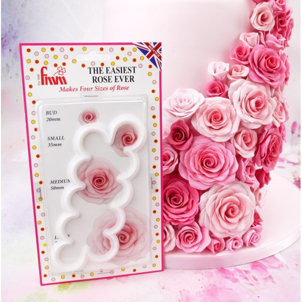 Cutter rose veloce FMM - FMM sugarcraft in vendita su Sugarmania.it