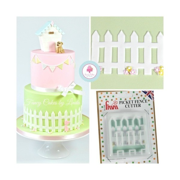 Cutter staccionata FMM - FMM sugarcraft in vendita su Sugarmania.it