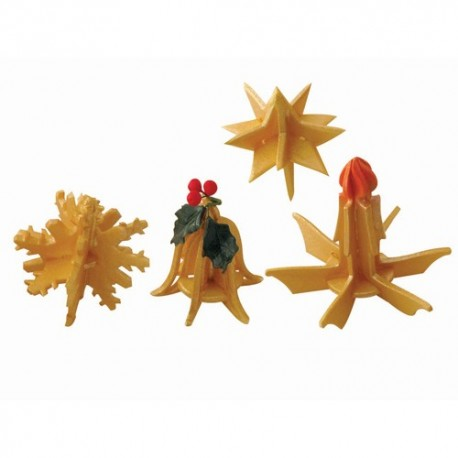 Set 7 cutter JEM Natale 3d - in vendita su Sugarmania.it