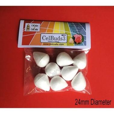 Boccioli per fiori CelBuds 3 - 2,4 cm - 8 pezzi - in vendita su Sugarmania.it