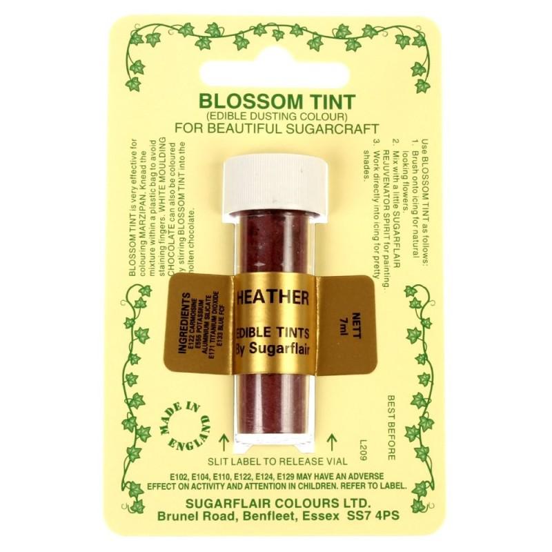 Sugarflair Blossom Tint Powdered Food Colour Dust HEATHER - Sugarflair in vendita su Sugarmania.it