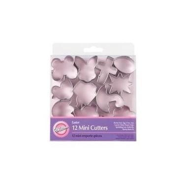 Set mini tagliapasta 12 pezzi Pasqua Wilton - Wilton in vendita su Sugarmania.it