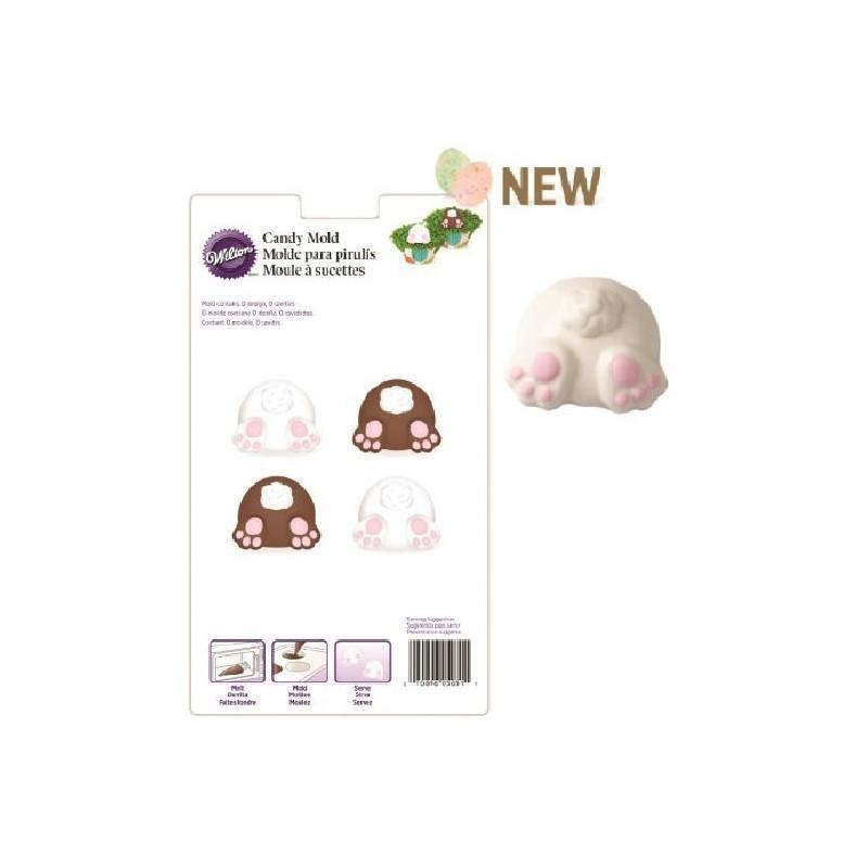 Stampo cioccolato candy coniglio - Wilton in vendita su Sugarmania.it