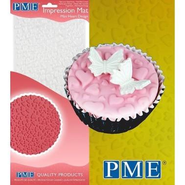 Tappetino PME Impression Mat Mini cuori - PME in vendita su Sugarmania.it
