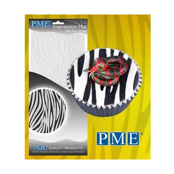 Tappetino PME Impressione Mat Bold Zebra - PME in vendita su Sugarmania.it