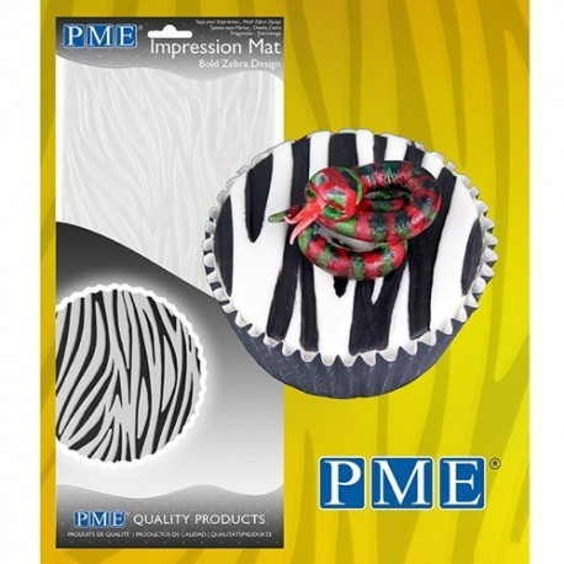 Tappetino PME Impressione Mat Bold Zebra - PME in vendita su Sugarmania.it