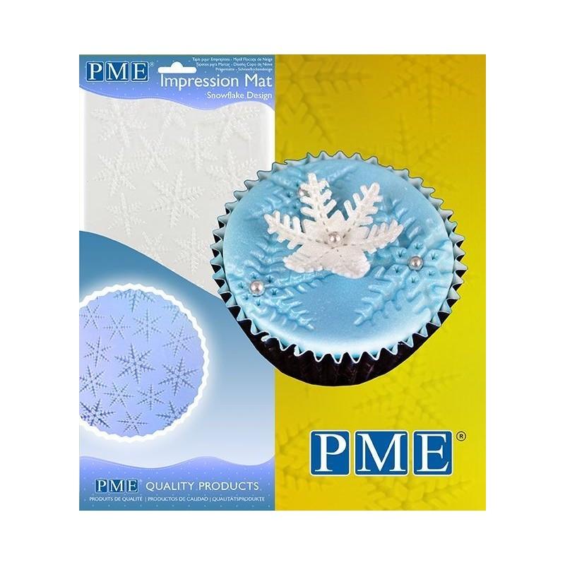 Tappetino PME Impressione Snowflake - PME in vendita su Sugarmania.it