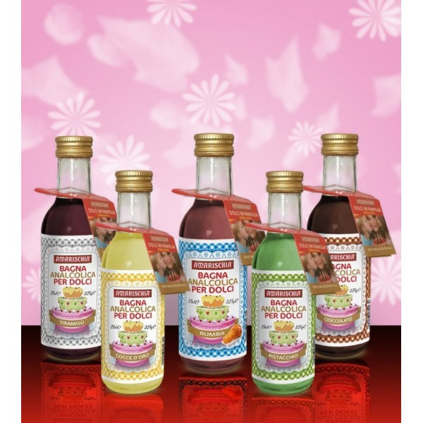 Bagna analcolica Amarischia Maraschino -  in vendita su Sugarmania.it