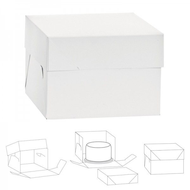 Scatola porta 26.5 x 26.5 x 15 cm Decora