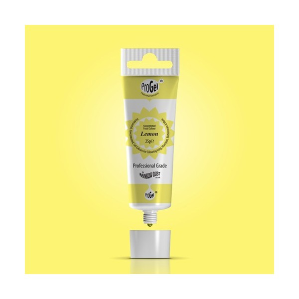 RD ProGel® Concentrated Colour - Lemon - Rainbow Dust in vendita su Sugarmania.it