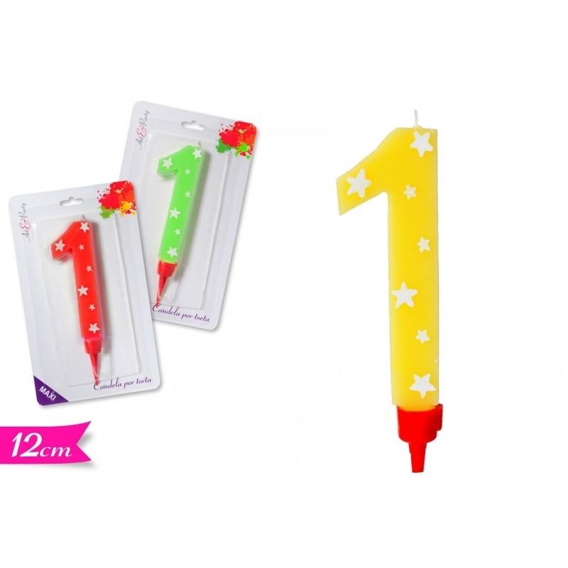 Candelina Maxi n 6 - in vendita su Sugarmania.it