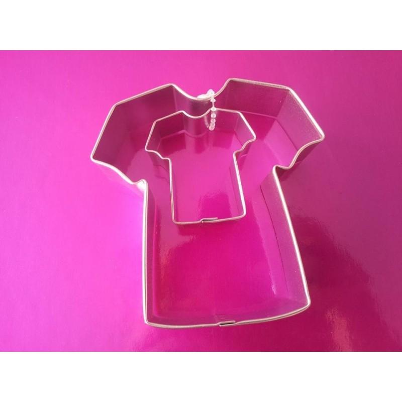 Tagliapasta biscotti maglietta set 2 PME - PME in vendita su Sugarmania.it