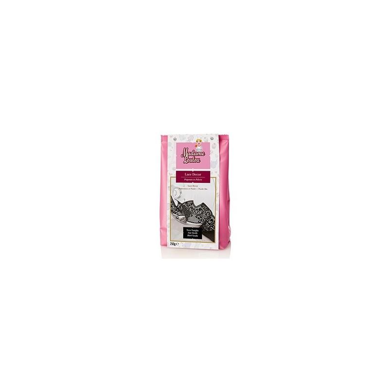 Lace Decor Madam Loulou NERO vaniglia 100 g - Madam Loulou in vendita su Sugarmania.it