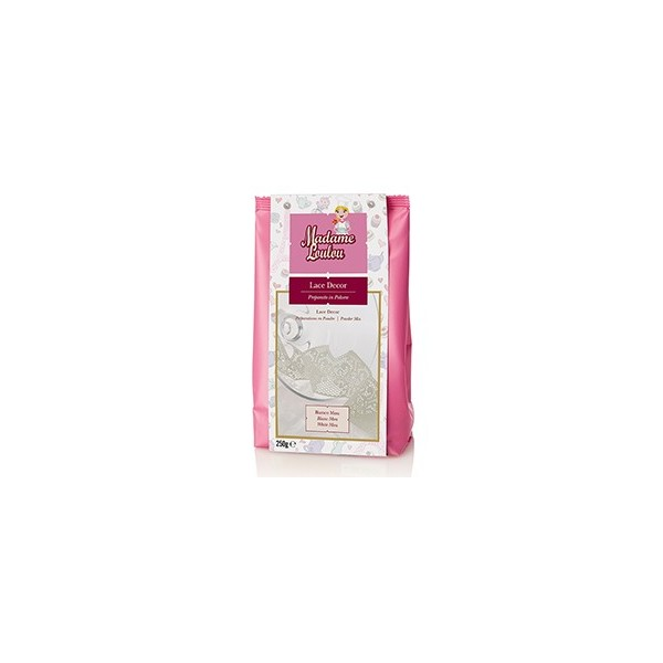 Lace Decor Madam Loulou BIANCO mou 100 g - Madam Loulou in vendita su Sugarmania.it