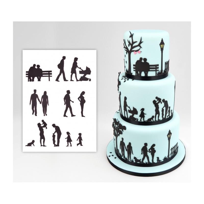 Patchwork Cutters Silhouette Famiglia 11 pezzi - in vendita su Sugarmania.it