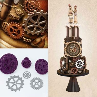 Stampo espulsione meccanismo orologio 3 pezzi - in vendita su Sugarmania.it