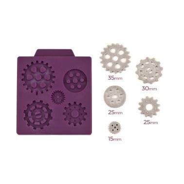 Stampo silicone meccanismo orologio -  in vendita su Sugarmania.it