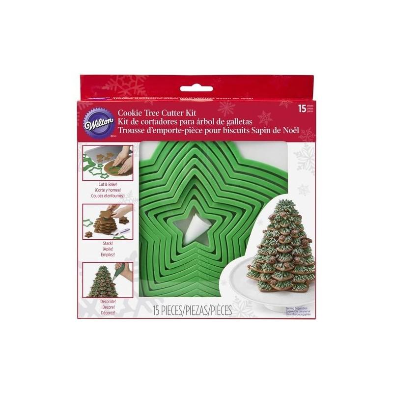 Kit albero di Natale Wilton 15 pezzi - Wilton in vendita su Sugarmania.it