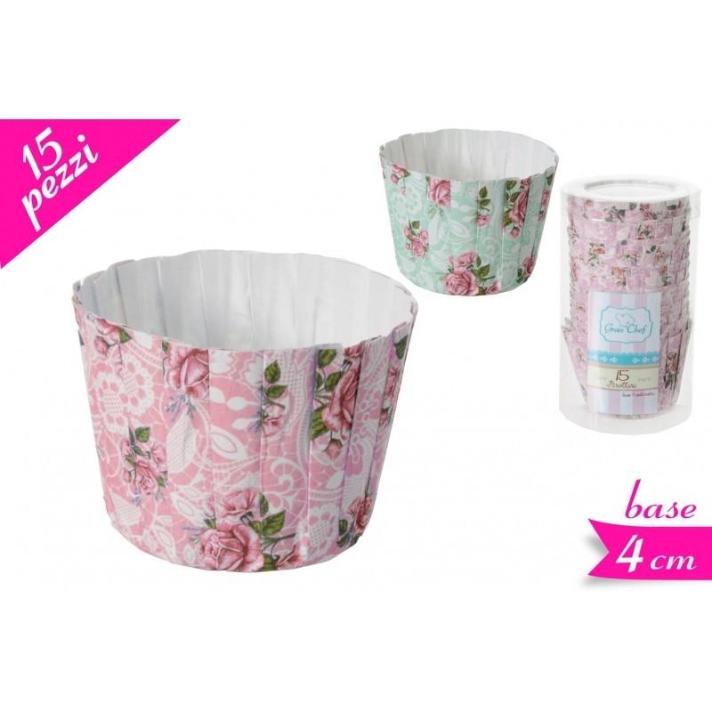 Set 15 Pirottini shabby chic rosa -  in vendita su Sugarmania.it