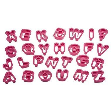 Set tagliapasta alfabeto Decora 27 pezzi - Decora in vendita su Sugarmania.it