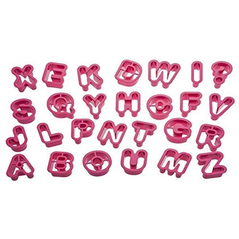 Set tagliapasta alfabeto Decora 27 pezzi - in vendita su Sugarmania.it