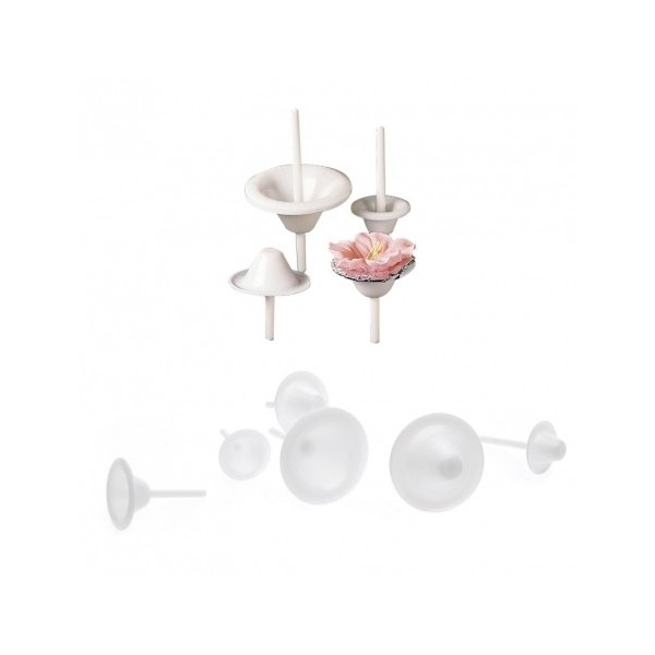 Set 8 supporti per fiori Wilton - Wilton in vendita su Sugarmania.it