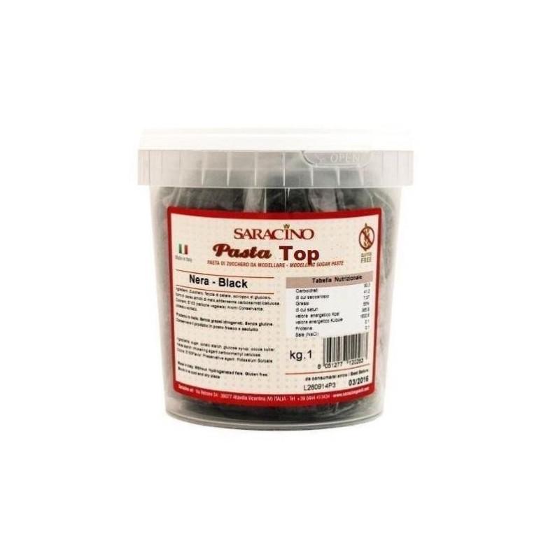 Pasta Top Saracino Nera 1 kg - Saracino in vendita su Sugarmania.it
